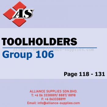 Toolholders - ISO Boring / ISO External (Group 106)