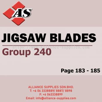 Jigsaw Blades (Group 240)