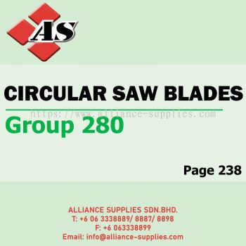 Circular Saw Blades (Group 280)