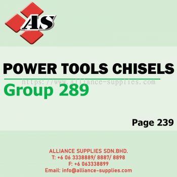 Power Tools Chisels (Group 289)