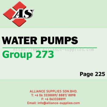 Water Pumps (Group 279)
