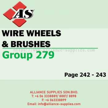 Wire Wheels & Brushes (Group 279)
