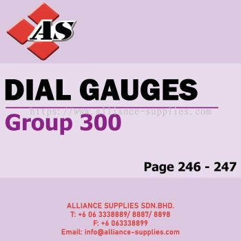 Dial Gauges (Group 300)
