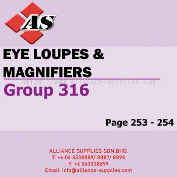 Eye Loupes & Magnifiers (Group 316)