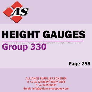 Height Gauges (Group 330)
