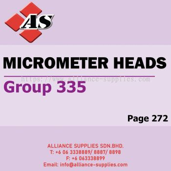 Micrometer Heads (Group 335)