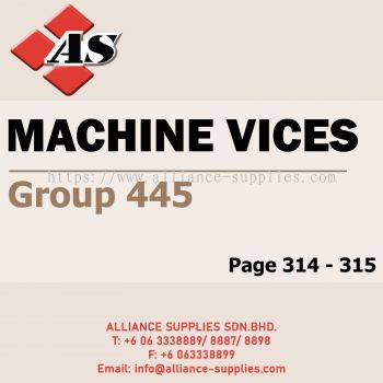 Machine Vices (Group 445)
