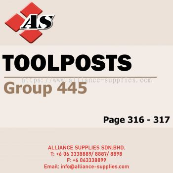 Toolposts (Group 445)