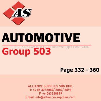 Automotive (Group 503)