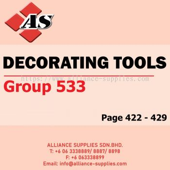 Decorating Tools (Group 533)