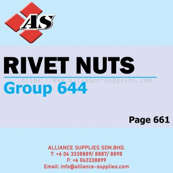 Rivet Nuts (Group 644)