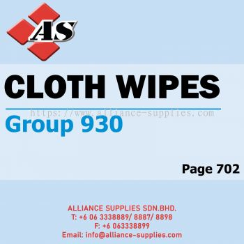 Cloth Wipes (Group 930)
