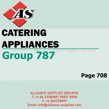 Catering Appliances (Group 787)