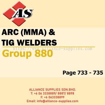 Arc (MMA) & TIG Welders (Group 880)