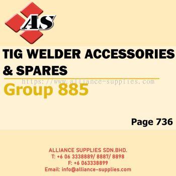 TIG Welder Accessories & Spares (Group 885)