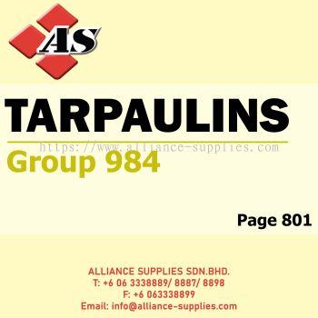 Tarpaulins (Group 984)
