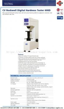 Rockwell Digital Bench Top Hardness Tester