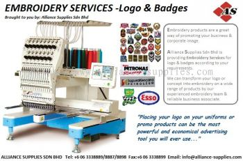 15.08.7 Logo Embroidery Service
