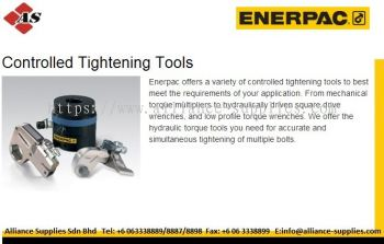 ENERPAC Hydraulic Torque Wrench/ Torque Multipliers/ Other Controlled Tightening Tools