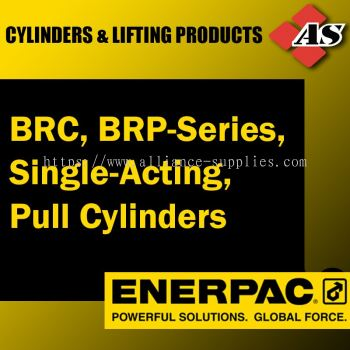 BRC, BRP-Series, Single-Acting, Pull Cylinders