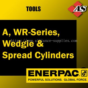 A, WR-Series, Wedgie & Spread Cylinders