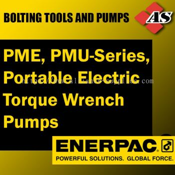 PME, PMU-Series, Portable Electric Torque Wrench Pumps