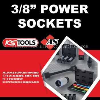 "KS TOOLS 3.1/2"" Power Sockets"