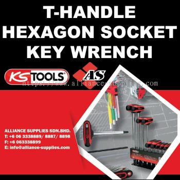 T-Handle Hexagon Socket Key Wrench