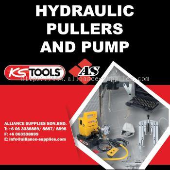 KS TOOLS Hydraulic Pullers & Pump