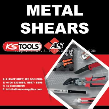 KS TOOLS Metal Shears