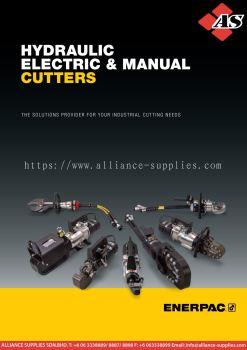 ENERPAC ECCE26E, 312 kN Capacity, Electric Chain Cutter, Maximum Material Diameter 25 mm, 230V
