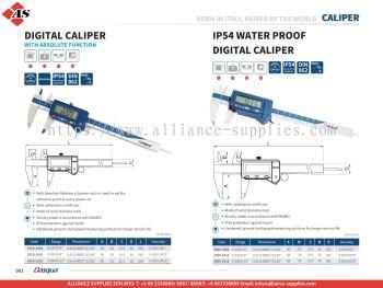 DASQUA Digital Caliper / IP54 Water Proof Digital Caliper