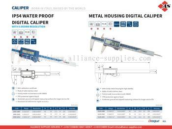 DASQUA Digital Caliper / Metal Housing Digital Caliper