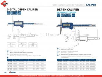 DASQUA Digital Depth Caliper / Depth Caliper