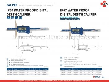 IP67 Water Proof Digital Depth Caliper