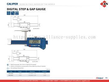 DASQUA Digital Step & Gap Gauge