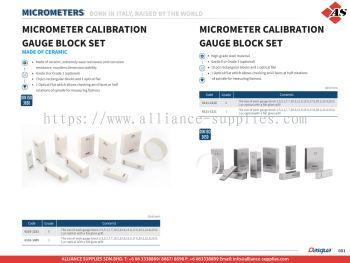 DASQUA Micrometer Calibration Gauge Block Set / Micrometer Calibration Gauge Block Set