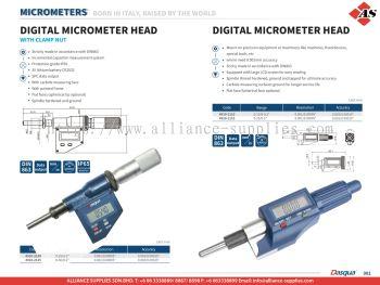 DASQUA Digital Micrometer Head
