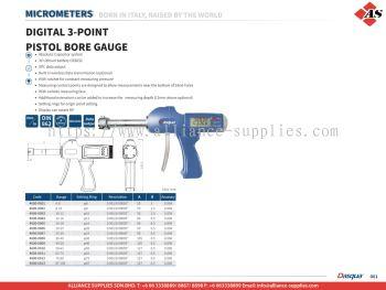 DASQUA Digital 3-Point Pistol Bore Gauge