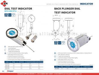 DASQUA Dial Test Indicator / Back Plunger Dial Test Indicator