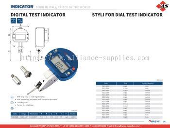 DASQUA Digital Test Indicator / Styli for Dial Test Indicator