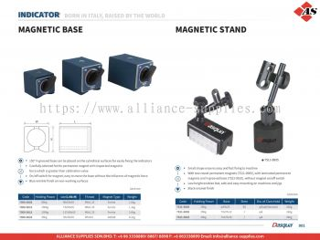 DASQUA Magnetic Base / Magnetic Stand