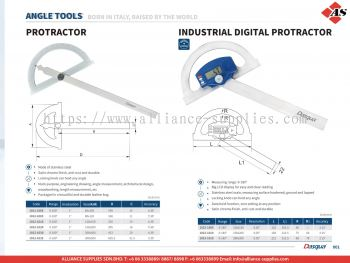 DASQUA Protractor / Industrial Digital Protractor