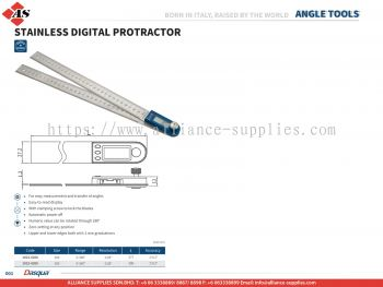 DASQUA Stainless Steel Digital Protractor