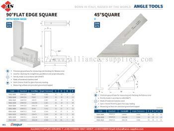DASQUA 90�� Flat Edge Square / 45�� Square