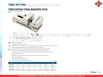 DASQUA Precision Toolmakers Vice