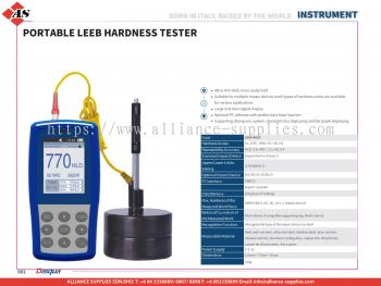 DASQUA Portable Leeb Hardness Tester