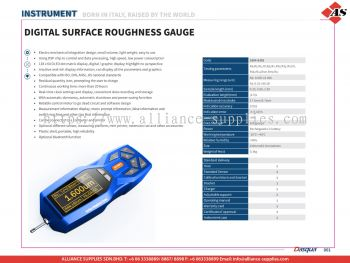 DASQUA Digital Surface Roughness Gauge