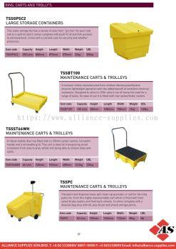 Bins, Carts And Trolleys