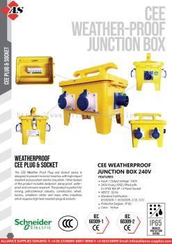 Cee Weatherproof Junction Box